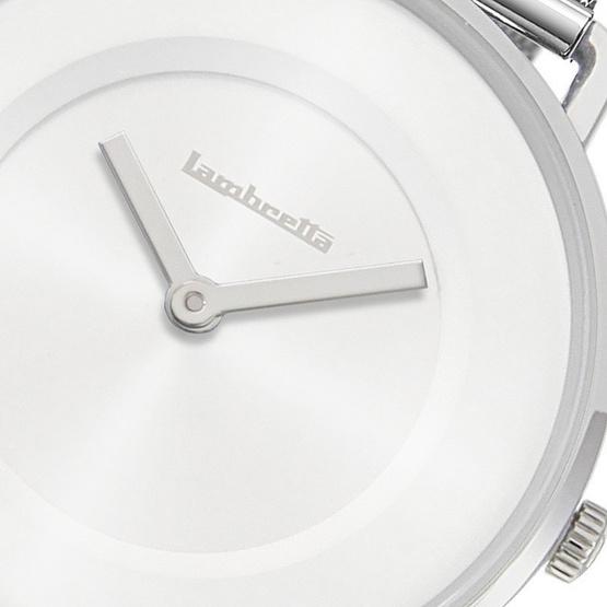 Lambretta นาฬิกาข้อมือ รุ่น 2252SIL-Mia 34 Mesh White Silver