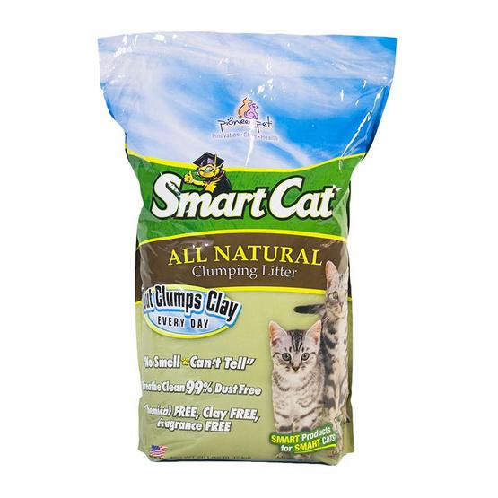 SmartCat ทรายแมวทำจากหญ้า