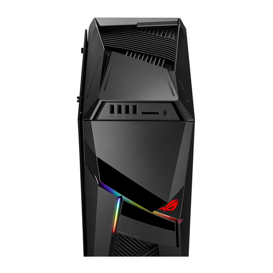 Asus Gaming Desktop ROG Strix GL12CX-TH002T IRON GRAY with transparent side panel