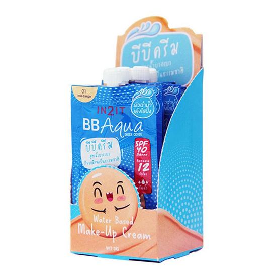 In2it BB Aqua water base (3 g x 6) #1 rose beige