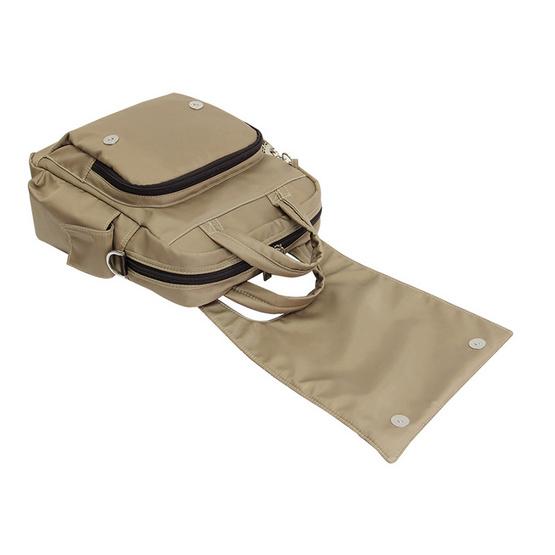 Huskies กระเป๋าเป้แฟชั่น รุ่น HK 02-735 KK สีกากี