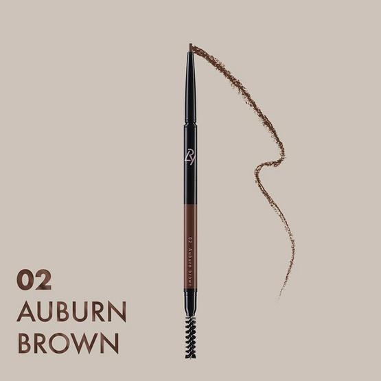 LRY All day long eyebrow Pencil #02 Auburn Brown