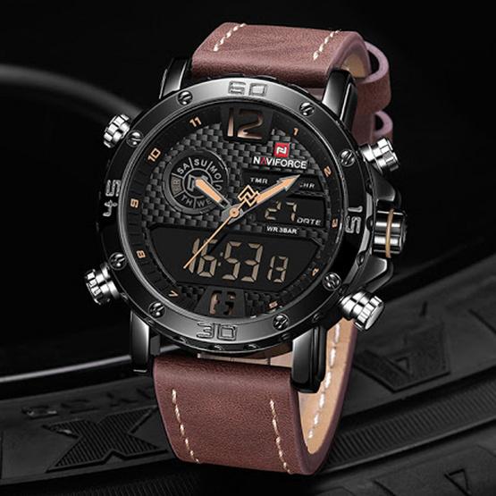 นาฬิกา Naviforce รุ่น NF9135M สีน้ำตาล