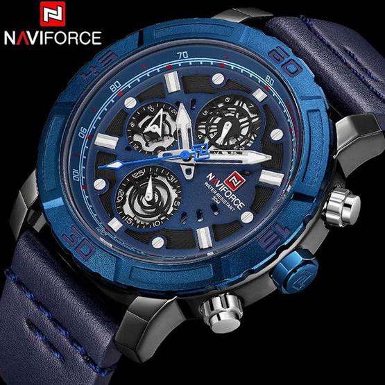 นาฬิกา Naviforce รุ่น NF9139M สีน้ำเงิน