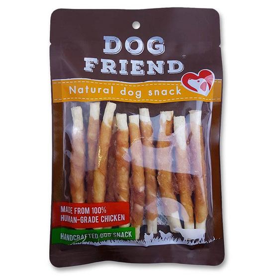 DOG FRIEND อกไก่พันครั้นชี่สติ๊ก 10 ชิ้น x 2 แพ็ค