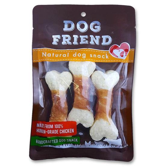 DOG FRIEND อกไก่พันครั้นชี่โบน 3 ชิ้น x 2 แพ็ค