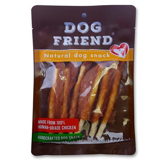 DOG FRIEND สันในไก่เสียบครั้นชี่สติ๊ก 6 ชิ้น x 2 แพ็ค