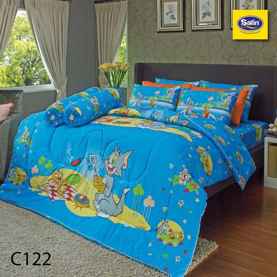 Satin Junior ผ้าปูที่นอน ลาย C122