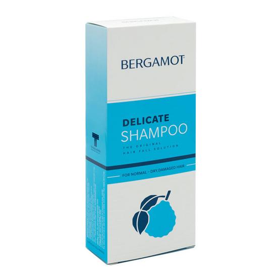 BERGAMOT DELICATE SHAMPOO 200 ml + TESTER BERGAMOT THE ORIGINAL HAIR TREATMENT 15 ml