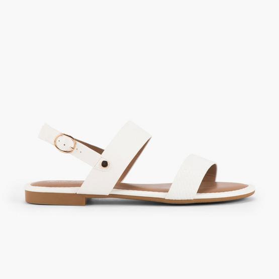 MARIA PIA รองเท้า รุ่น LISA FLAT SANDALS M56-18015-WHT