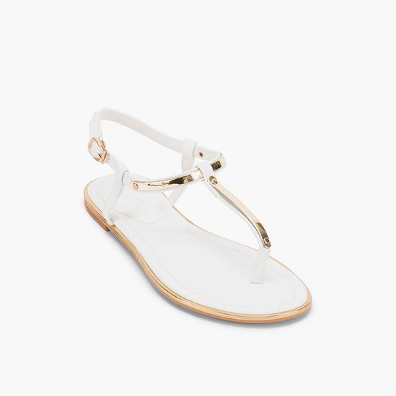 MARIA PIA รองเท้า รุ่น AUDREY FLAT SANDALS M56-18028-WHT