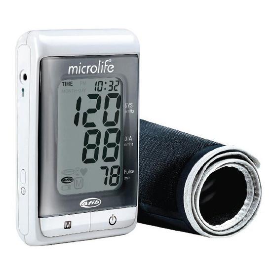 Microlife เครื่องวัดความดันไมโครไลฟ์ 3MS1-4K (AFIB)