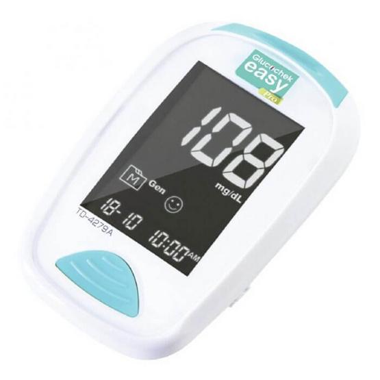 Glucochek เครื่องวัดระดับน้ำตาลในเลือด เอ็กซ์เตอร์ กลูโคเช็ค อีซี่ โปร