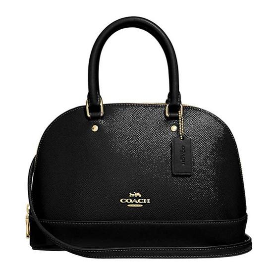 กระเป๋า COACH F32019 MINI SIERRA SATCHEL (IMBLK) [MCF32019IMBLK]