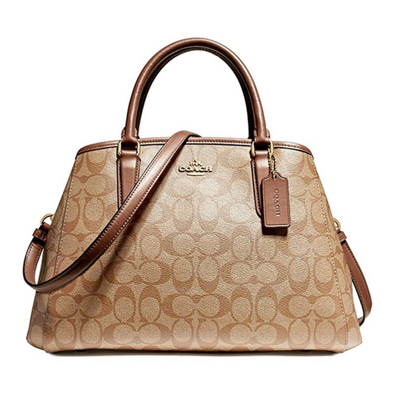 กระเป๋า COACH F58310 SMALL MARGOT CARRYALL IN SIGNATURE (IME74) [MCF58310IME74]