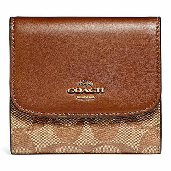 detailed look 93a50 cd3b1 กระเป๋าสตางค์ COACH F87589 SMALL WALLET (IME74) [MCF87589IME74]