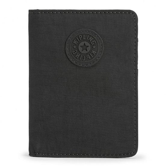กระเป๋าสตางค์ Kipling Pass Port - True Black [MCK13256J99]