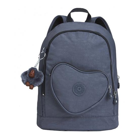 กระเป๋าเป้ Kipling Heart Backpack - True Jeans [MCK21086D24]