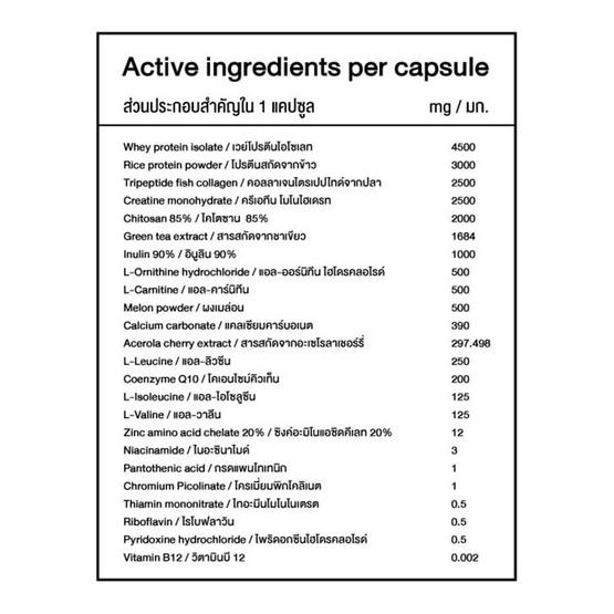 OMG เวย์โปรตีนไอโซเลท แพ็ค3 (1 กล่อง 5 ซอง)