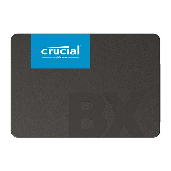 "Crucial SSD BX500 3D NAND SATA 2.5"" 240 GB"