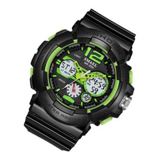 Smael นาฬิกาข้อมือผู้ชาย Sport Digital & Analog Multiple Function Display รุ่น SM1415