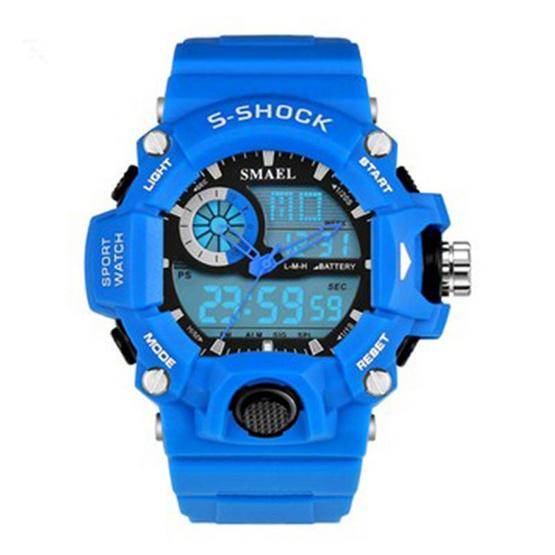 Smael นาฬิกาข้อมือผู้ชาย Sport Digital & Analog Multiple Function Display รุ่น SM1385