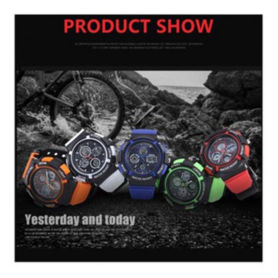Smael นาฬิกาข้อมือผู้หญิง Sport Digital Multiple Display รุ่น SM1310
