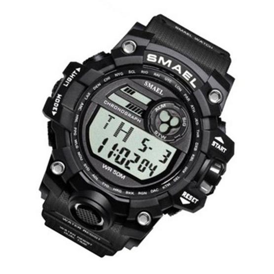 Smael นาฬิกาข้อมือผู้ชาย Sport Digital Display ฟังก์ชั่นครบ รุ่น SM1545D