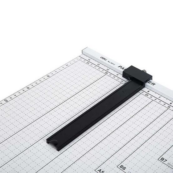 Deli 8012 แท่นเหล็กตัดกระดาษ ขนาด 18x15 นิ้ว