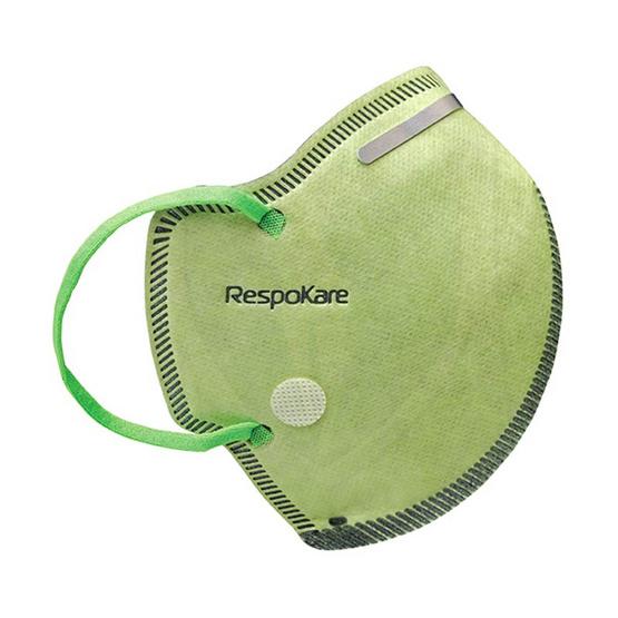 RespoKare เรสโปแคร์ หน้ากากป้องกันมลพิษและฝุ่นควัน สำหรับผู้ใหญ่ ขนาดใหญ่ แบบแพ็ค 3 ชิ้น/กล่อง
