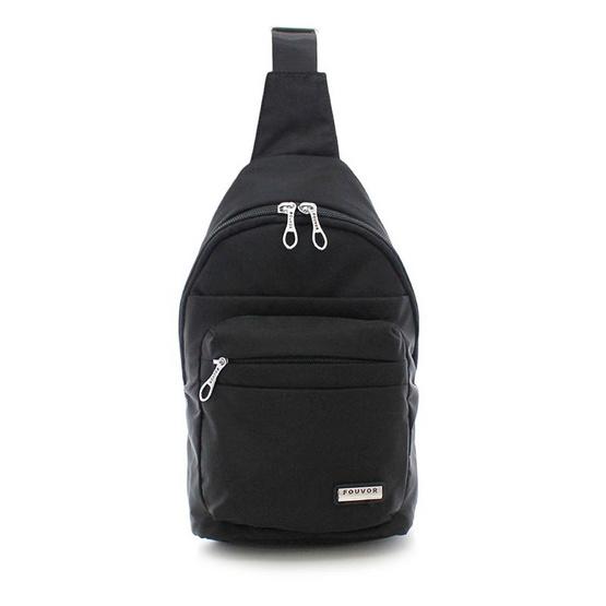 FOUVOR กระเป๋าคาดอก รุ่น 2800-16 สีดำ