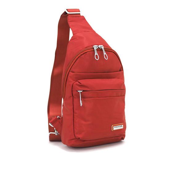 FOUVOR กระเป๋าคาดอก รุ่น 2800-16 สีส้ม