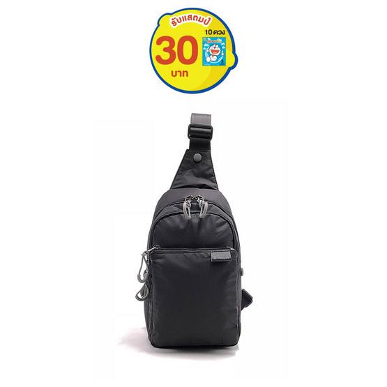 FOUVOR กระเป๋าคาดอก รุ่น 2802-05 สีดำ