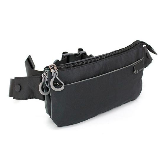 FOUVOR กระเป๋าคาดเอว รุ่น 2802-13 สีดำ