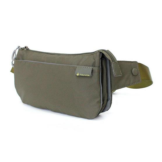 FOUVOR กระเป๋าคาดเอว รุ่น 2802-13 สีเขียว