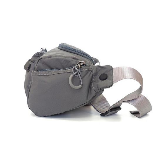 FOUVOR กระเป๋าคาดเอว รุ่น 2802-19 สีเทา