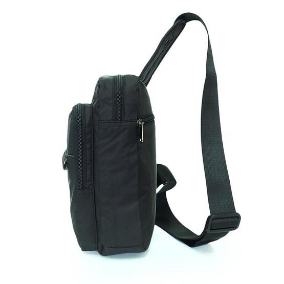 FOUVOR กระเป๋าคาดอก รุ่น 2802-21 สีดำ