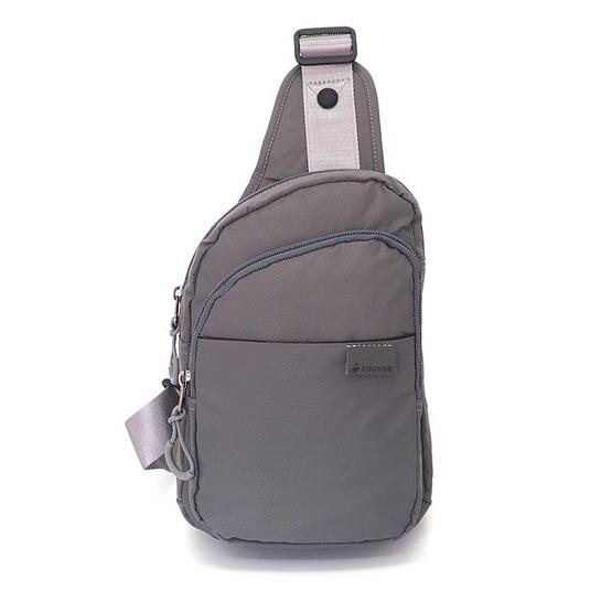 FOUVOR กระเป๋าคาดอก รุ่น 2802-21 สีเทา