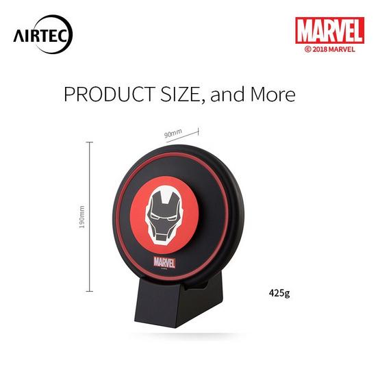 MARVEL AIRTEC เครื่องฟอกอากาศ รุ่น Aladdin Iron Man