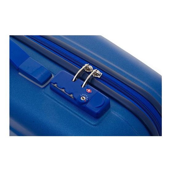 Giogracia Polo Club : กระเป๋าเดินทาง จิโอกราเซีย รุ่น Azure Model:B1041 ขนาด 20 นิ้ว สีน้ำเงิน