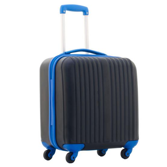 Giogracia Polo Club : กระเป๋าเดินทาง รุ่นคอมแพค 25337 ขนาด 17 นิ้ว สีดำ