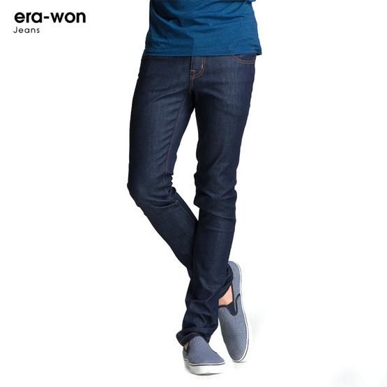ERA-WON กางเกงยีนส์ Jeans ทรง Ultra skinny สี Cobalt