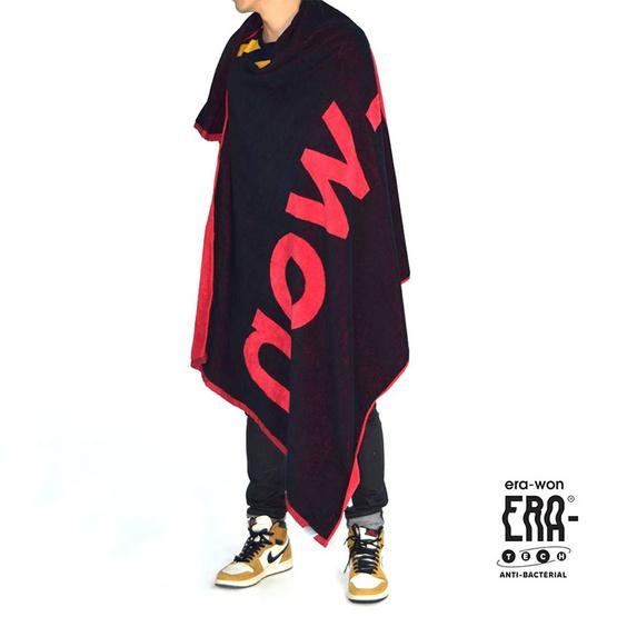 ERA-WON Jumbo towels anti-bac สี ERAWON TOWEL RED