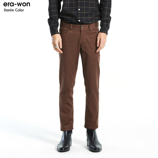 ERA-WON Denim Colors Super Skinny สี Chocolate