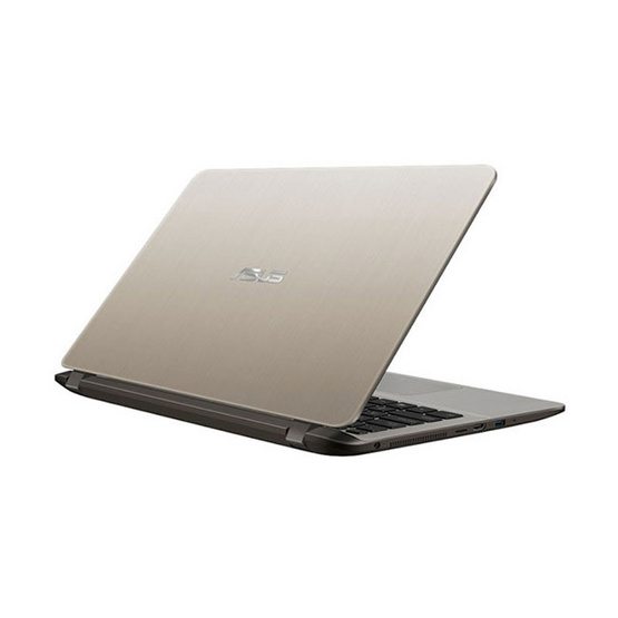 Asus Notebook X407UF-BV122T i5-8250U 1.6GH 4G 1T+SSD128 V2G W10 Icicle Gold IMR with hairline