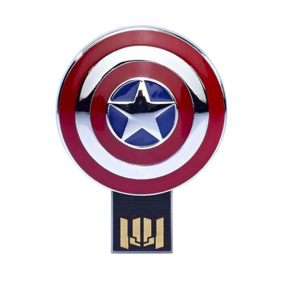 Info Think Marvel Flash Drive Captain America Shield 8GB