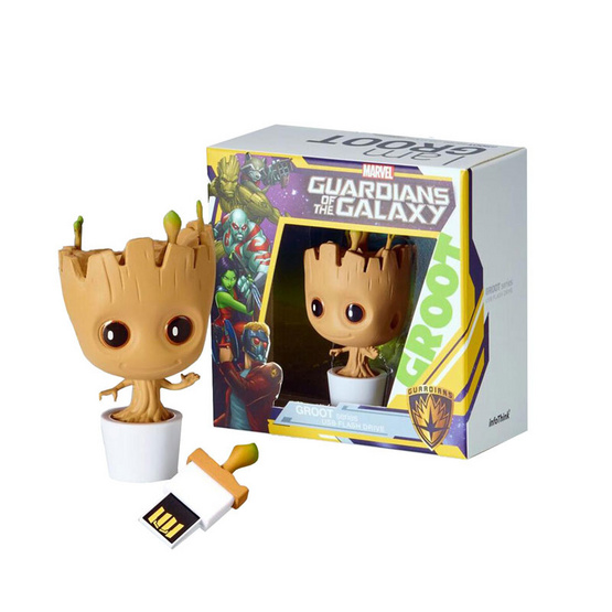 Info Think Marvel Flash Drive Baby Groot Design 16GB
