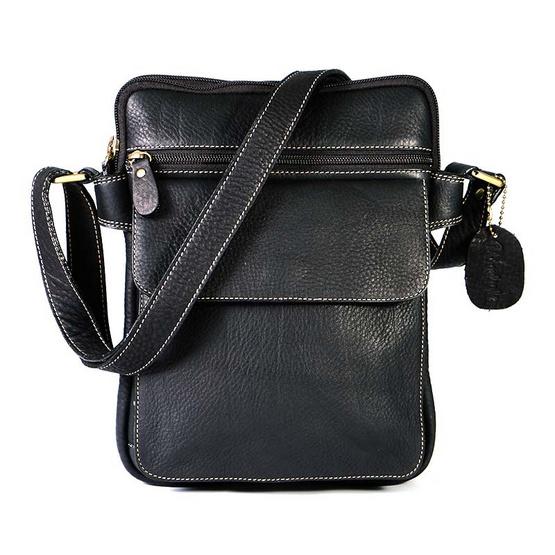 MOONLIGHT กระเป๋าสะพาย สำหรับผู้ชาย รุ่น Martin หนังแท้ทั้งใบ ใส่แท็บเล็ตได้