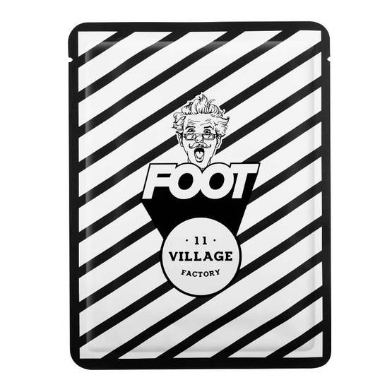 Village11 Factory แผ่นมาส์กเท้า รีแลกซ์เดย์ 15 กรัม