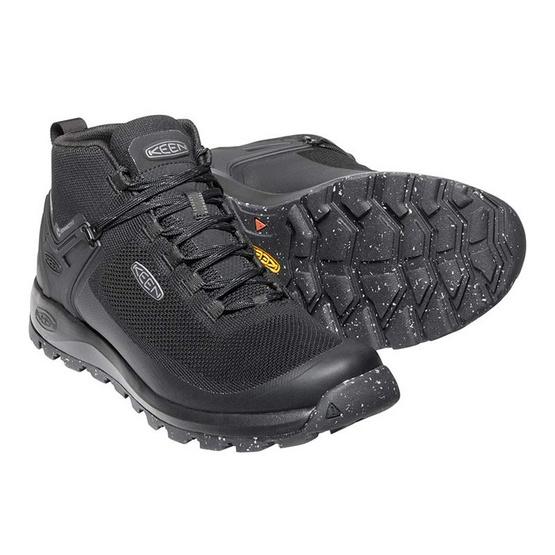 Keen รองเท้าผู้ชาย 1021161 M-CITIZEN EVO MID WP TRIPLE BLACK/BLACK